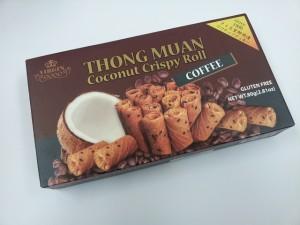 やった!セレブ気分を味わえるクッキー!トンムアン ココナッツロール コーヒー