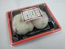 おいしいお茶と一緒に3時のおやつで!阪神製菓 笑う門には塩豆大福