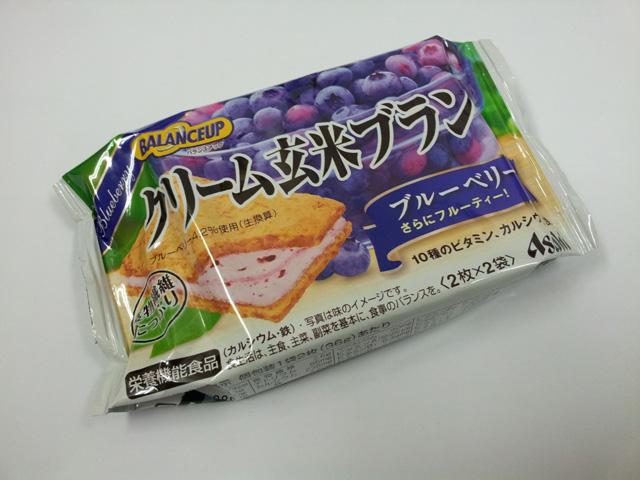 アサヒフードヘルスケア クリーム玄米ブラン ブルーベリー