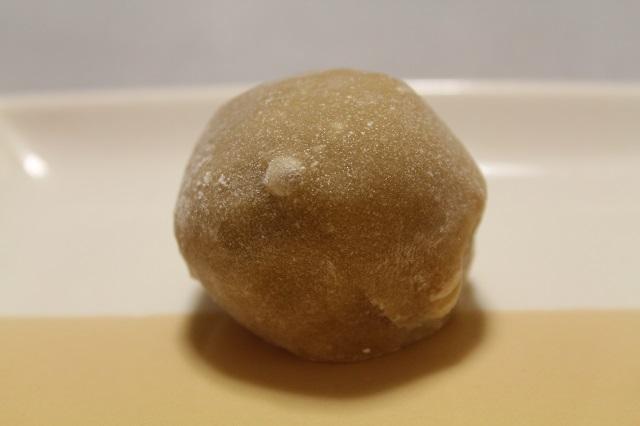 米満(よねまん)「コーヒー大福」お皿のせ