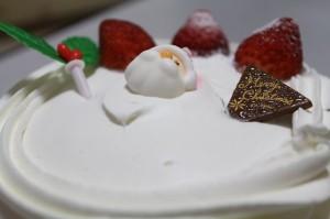 クリスマスケーキの予約をしていなかった時に!サンローゼ「クリスマスボンブケーキ5号」