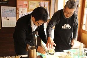 大阪のコーヒー教室と愛知のスイーツを試食!コラボイベント前編