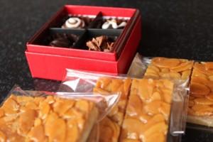 大阪のステキな管理栄養士さんが作るチョコとフロランタン!コバヤシミキさん