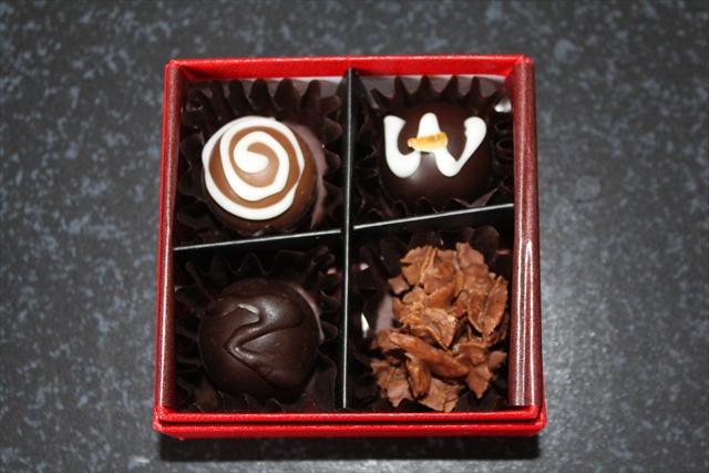 ステキな管理栄養士のコバヤシミキさん作:手作りチョコレート