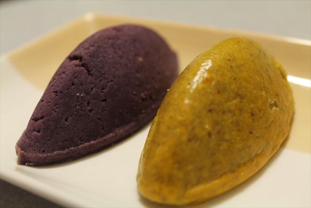 らぽっぽ「スイートポテト・紫芋スイートポテト」
